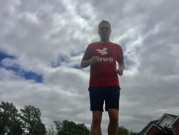 Kevin running