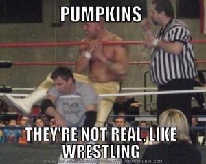 Wrestling-pumpkins